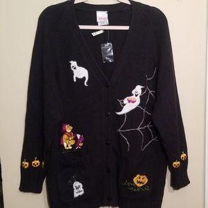 Rare Disney Halloween Sweater NWT Size Medium
